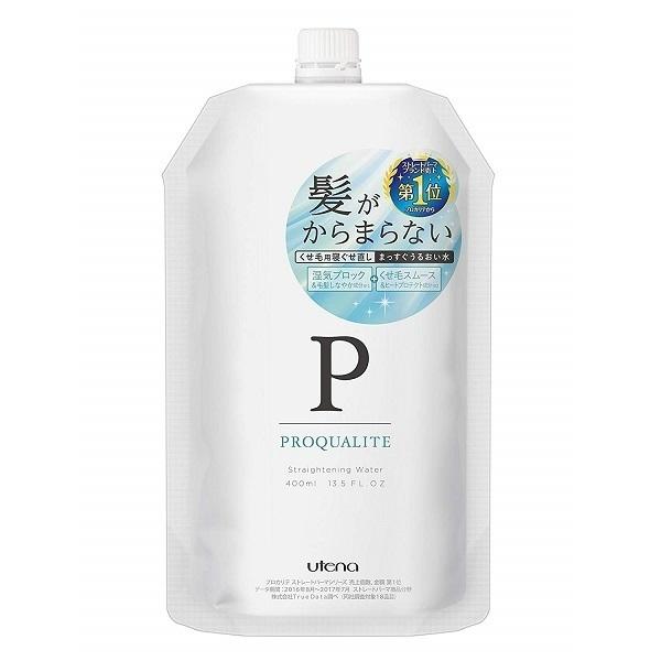 まっすぐうるおい水 / 詰替え / 400ml / グリーンフローラルの香り