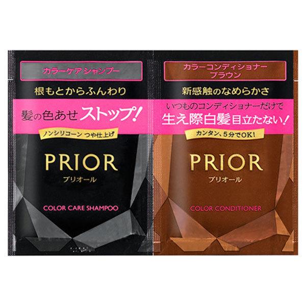 【1DAYトライアルセット】 カラーケアシャンプー/カラーコンディショナー N / トライアル / ブラウン