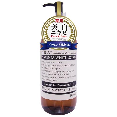 HBA 薬用プラセンタホワイトローション / 500mL