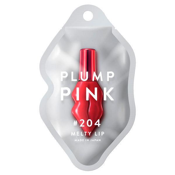 プランプピンク メルティ—リップ ベルベットルージュ / 【204】トリックレッド