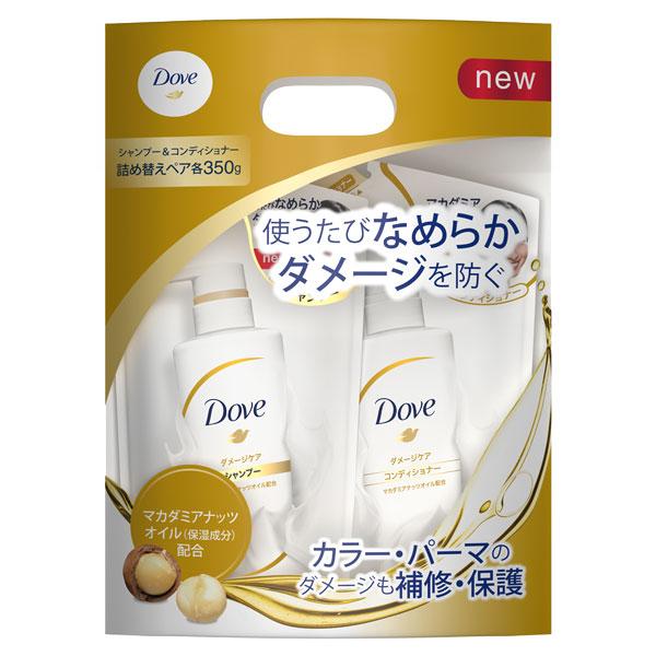 【限定品】ダメージケアシャンプー/コンディショナー / 詰替え用ペア