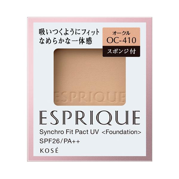 シンクロフィット パクト UV / SPF26 / PA++ / リフィル / 【OC-410】オークル / 9.3g / なめらか / 無香料