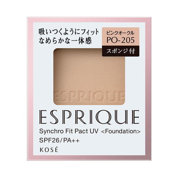シンクロフィット パクト UV / SPF26 / PA++ / リフィル / 【PO-205】ピンクオークル / 9.3g / なめらか / 無香料