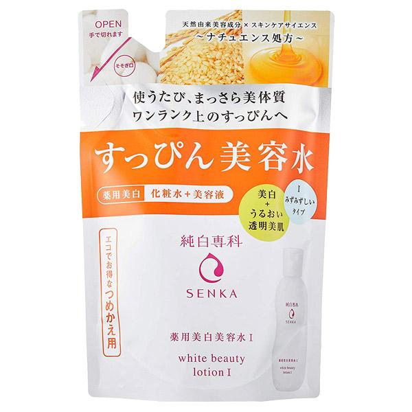 純白専科 すっぴん美容水 I / 詰替え / 180ml / みずみずしいタイプ