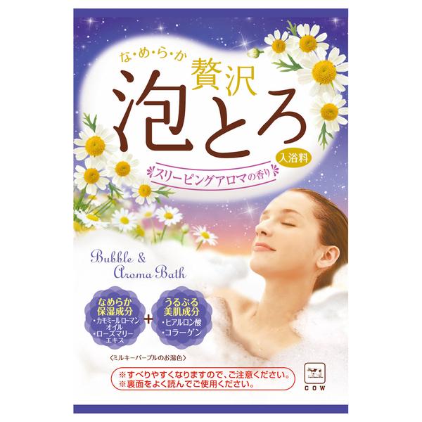 贅沢泡とろ 入浴料 スリーピングアロマの香り / 30g