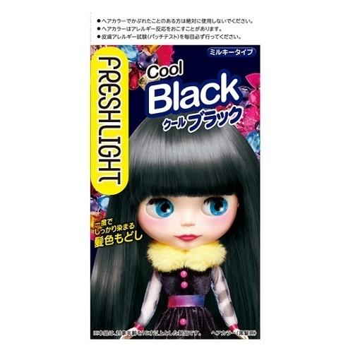 ミルキー髪色もどし / 本体 / クールブラック / 60g+60mL