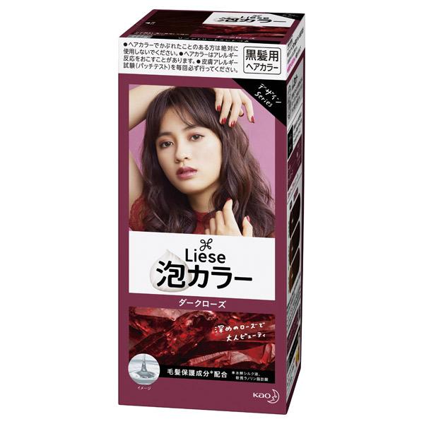 泡カラー / 本体 / ダークローズ / 108ml