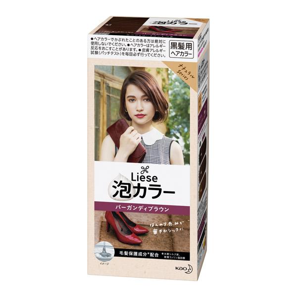 泡カラー / 本体 / バーガンディブラウン / 108ml