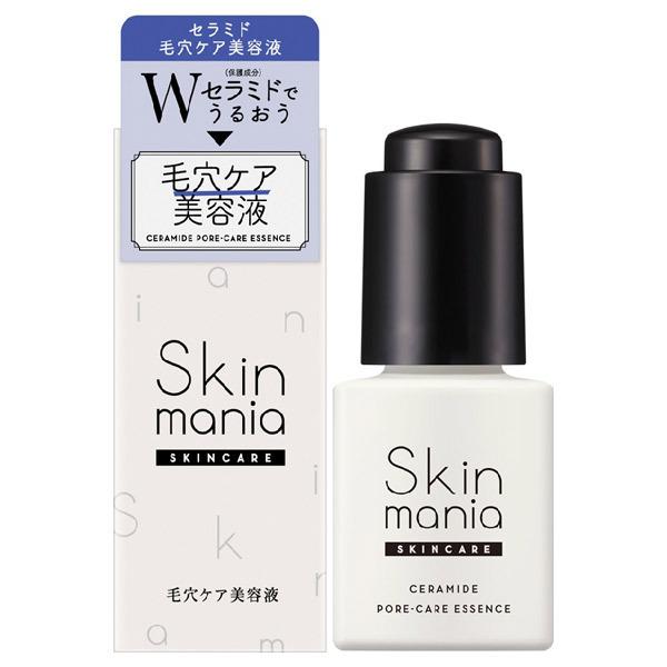 Skin mania セラミド 毛穴ケア美容液 / 50ml / しっとり / みずみずしいハーバルフレッシュの香り