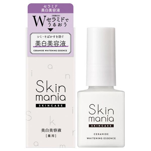 Skin mania セラミド 美白美容液 / 40ml / しっとり / みずみずしいハーバルフレッシュの香り