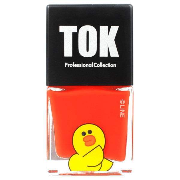 TOK|LINEFRIENDS ハイブリットカラー / 本体 / TLH17 コーラルオレンジ / 10ml