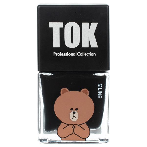 TOK|LINEFRIENDS ハイブリットカラー / 本体 / TLH07 オニキスブラック / 10ml