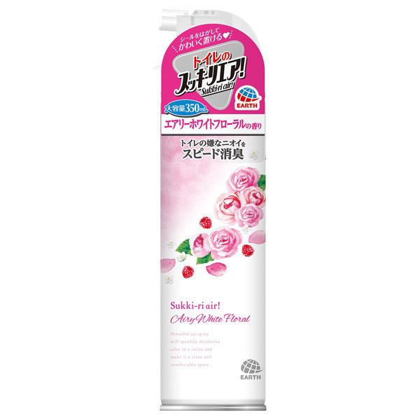 トイレのスッキーリエア!Sukki-ri air! / 350ml / エアリーホワイトフローラルの香り