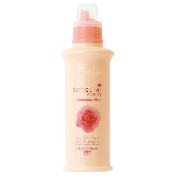 サムライウーマン シャンパンローズ 柔軟剤 / 本体 / 680ml / サムライウーマンシャンパンローズの香り