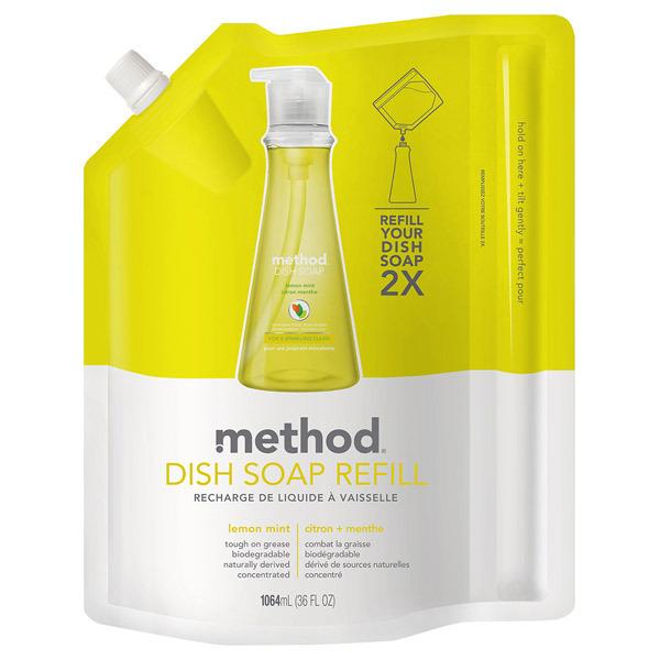 ディッシュソープ / リフィル / レモンミント / 1060ml / フレッシュレモンとすがすがしいミントの香り