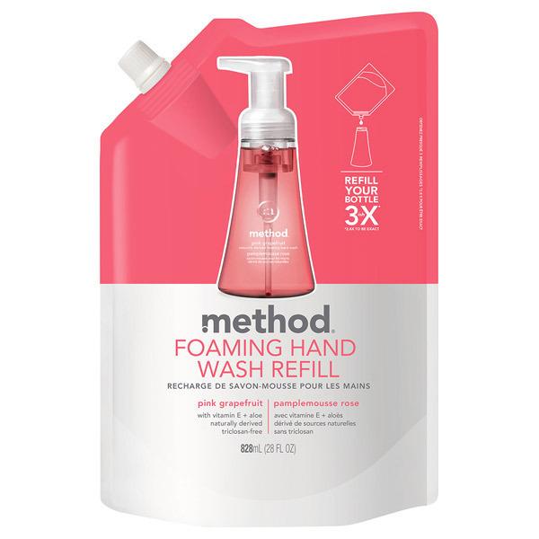ハンドソープフォーミングタイプ ピンクグレープフルーツ / リフィル / 828ml / ピンクグレープフルーツの香り