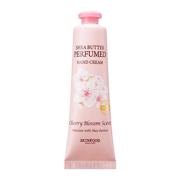 シアバターパフュームハンドクリーム (チェリーブロッサム) / 本体 / 30ml / しっとり / チェリーブロッサムの可憐な香り