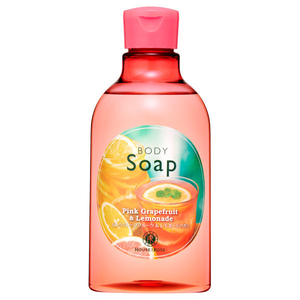 【限定品】ボディソープ PL (ピンクグレープフルーツ&レモネードの香り) / 本体 / 300mL / ピンクグレープフルーツ&レモネードの香り