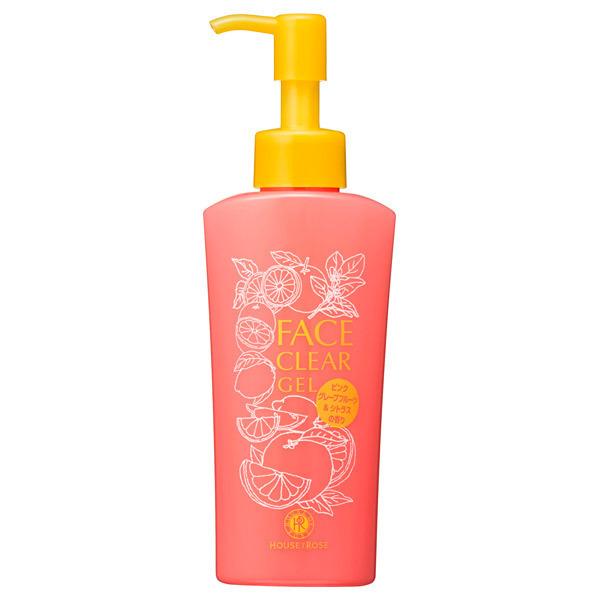 【限定品】フェイスクリア ジェル ピンクグレープフルーツ&シトラスの香り / 本体 / 145ml / ピンクグレープフルーツ&シトラスの香り