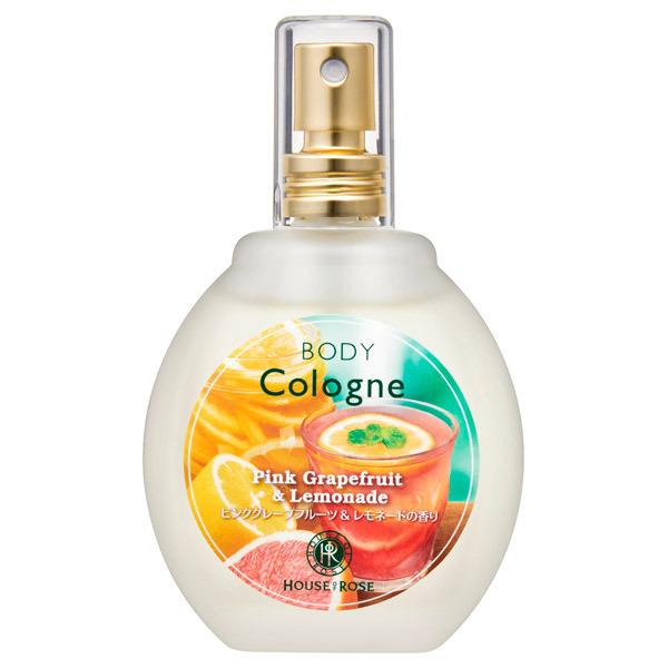 【限定品】ボディコロン PL (ピンクグレープフルーツ&レモネードの香り) / 本体 / 45mL / ピンクグレープフルーツ&レモネードの香り
