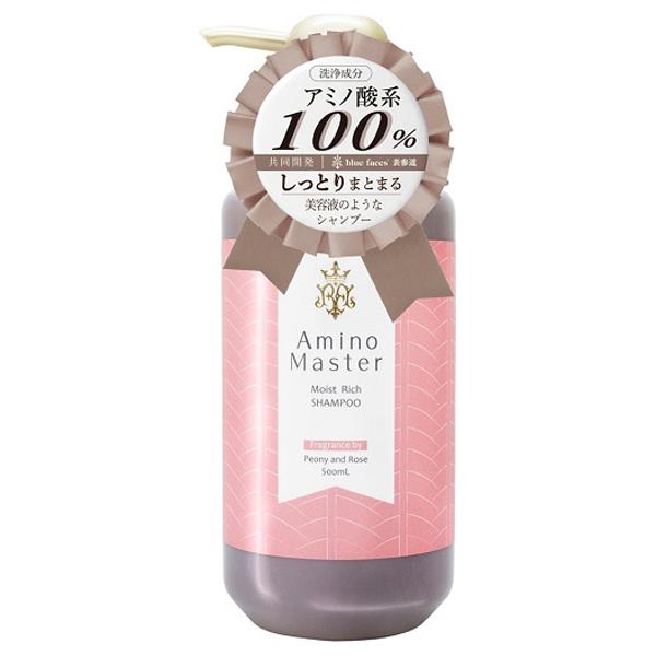 モイストリッチシャンプー / 500mL / ピオニー&ローズの香り