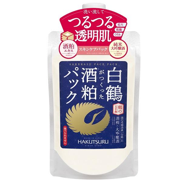 鶴の玉手箱 白鶴がつくった酒粕パック / 170g / しっとり