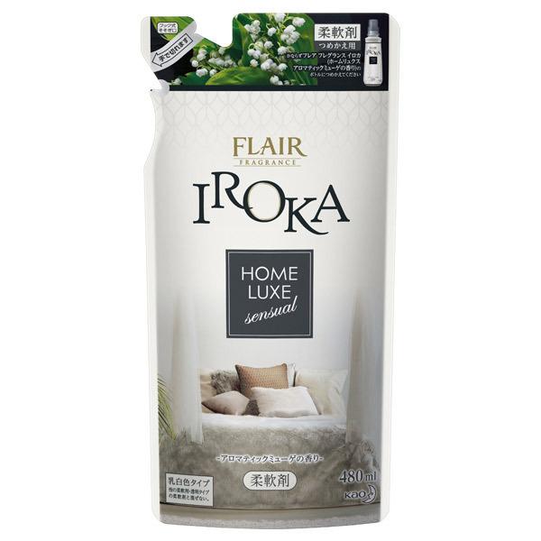 フレア フレグランス IROKA ホームリュクス アロマティックミューゲ / 詰替え / 480ml / アロマティックミューゲの香り