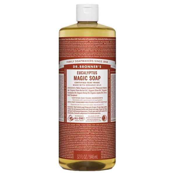 マジックソープ ユーカリ / 946ml / 透明感のあるシャープな香り