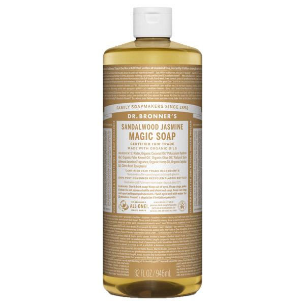 マジックソープ サンダルウッド&ジャスミン / 946ml / 甘くオリエンタルな香り
