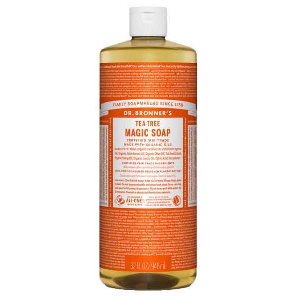 マジックソープ ティートゥリー / 946ml / クリアで清潔感のある香り