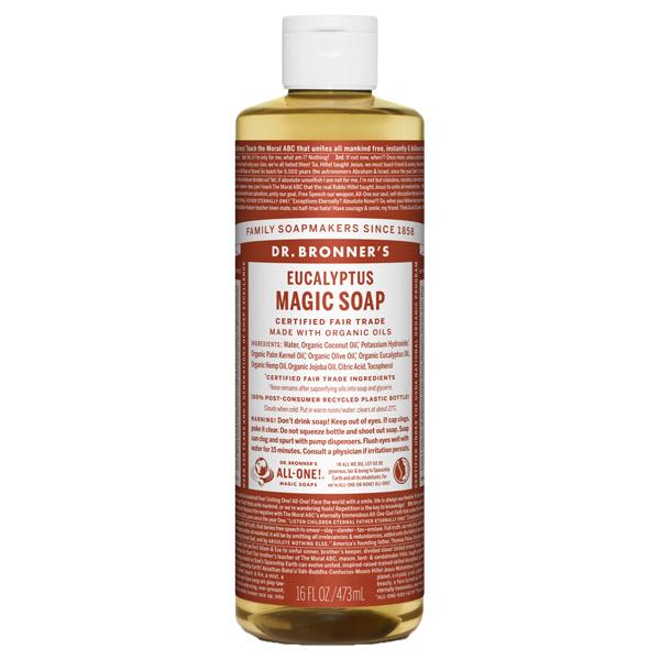 マジックソープ ユーカリ / 473ml / 透明感のあるシャープな香り