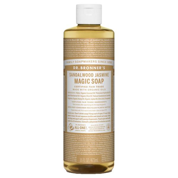 マジックソープ サンダルウッド&ジャスミン / 473ml / 甘くオリエンタルな香り