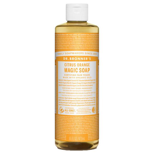 マジックソープ シトラスオレンジ / 473ml / フレッシュな柑橘の香り