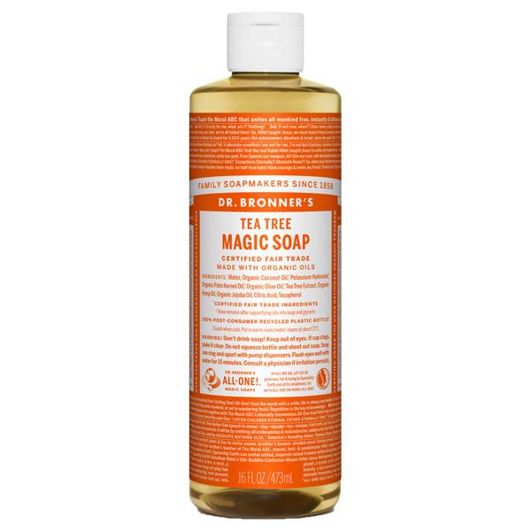 マジックソープ ティートゥリー / 473ml / クリアで清潔感のある香り