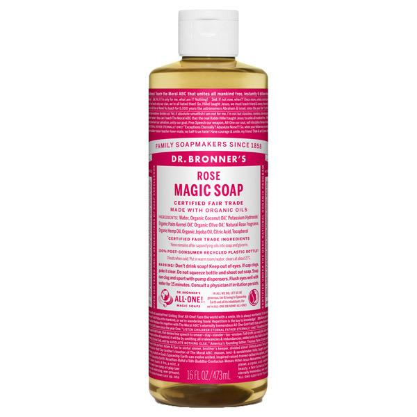 マジックソープ ローズ / 473ml / やさしいローズの香り