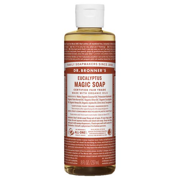 マジックソープ ユーカリ / 237ml / 透明感のあるシャープな香り