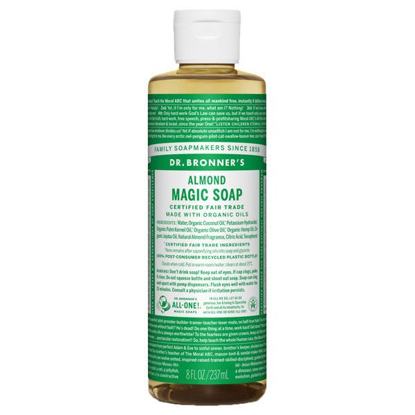 マジックソープ アーモンド / 237ml / ナッツのような甘い香り
