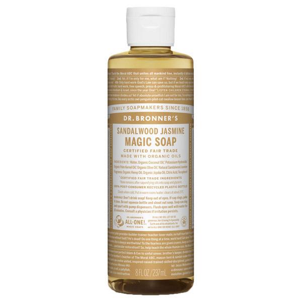 マジックソープ サンダルウッド&ジャスミン / 237ml / 甘くオリエンタルな香り