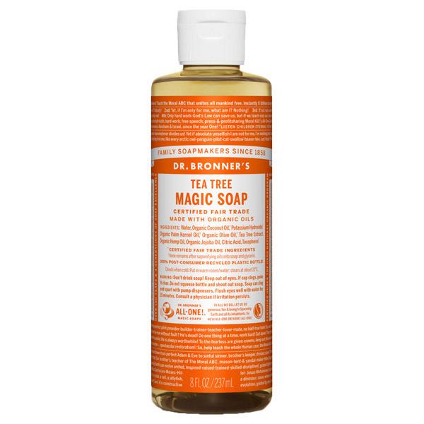 マジックソープ ティートゥリー / 237ml / クリアで清潔感のある香り