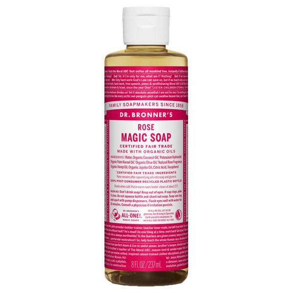 マジックソープ ローズ / 237ml / やさしいローズの香り