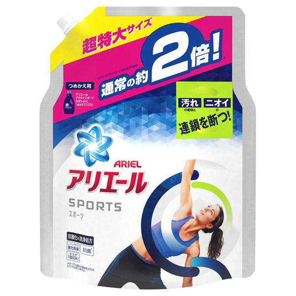 アリエール イオンパワージェル プラチナスポーツ / 詰め替え用 / (超特大)1340g