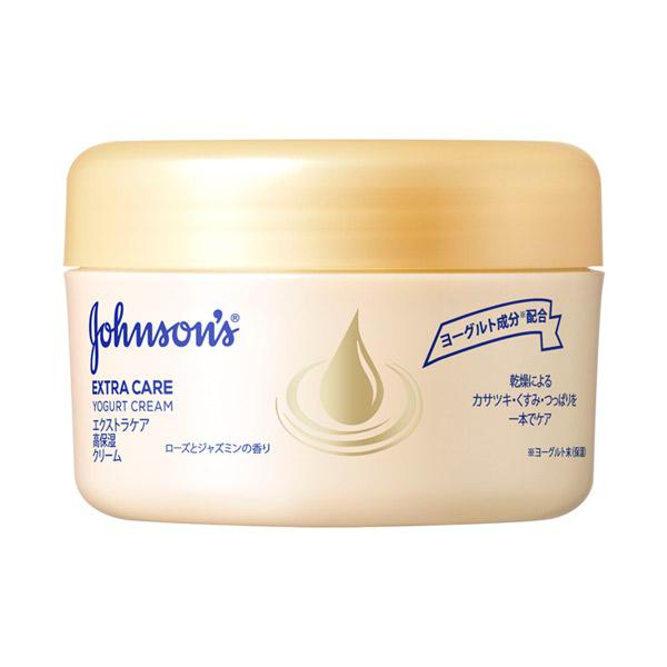 ジョンソンボディケア エクストラケア 高保湿クリーム / 100g / ローズとジャスミンの香り