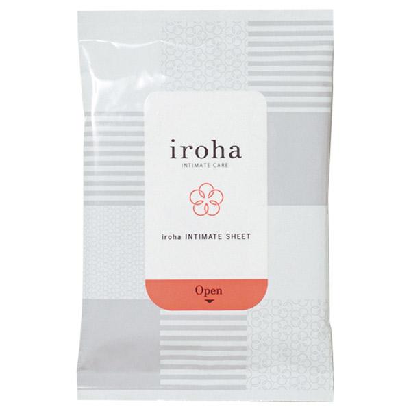 iroha INTIMATE SHEET / 本体 / 10枚 / オリエンタルハーブの香り