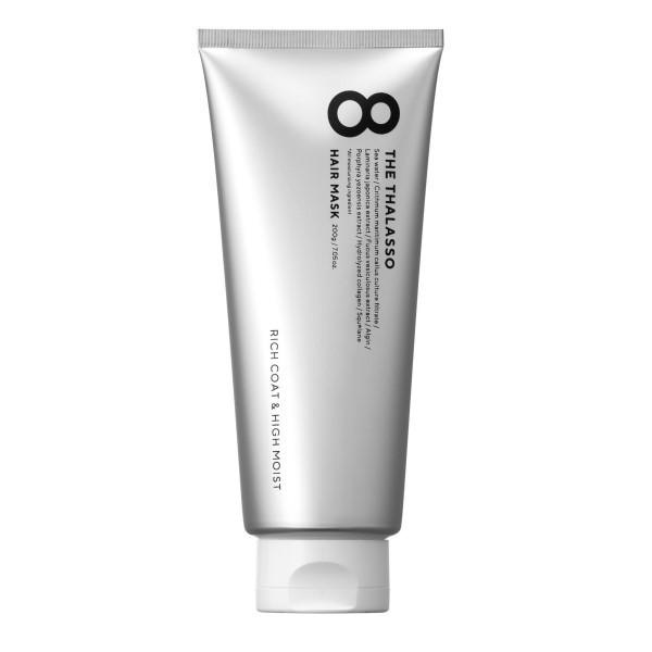 エイトザタラソ リッチコート&ハイモイスト 美容液ヘアマスク / 本体 / 200g / アクアホワイトフローラルの香り