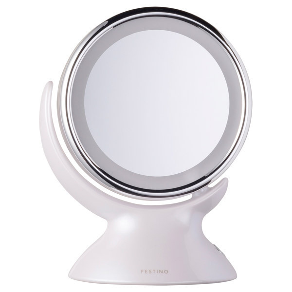 Around LED Mirror / 本体 / ホワイト / 430g