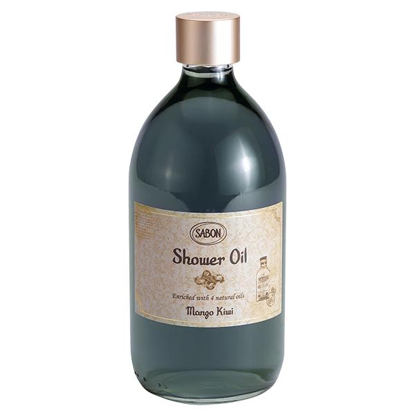 シャワーオイル マンゴー・キウイ / 500mL / トロピカルフルーツ、マンゴーとキウイの香り