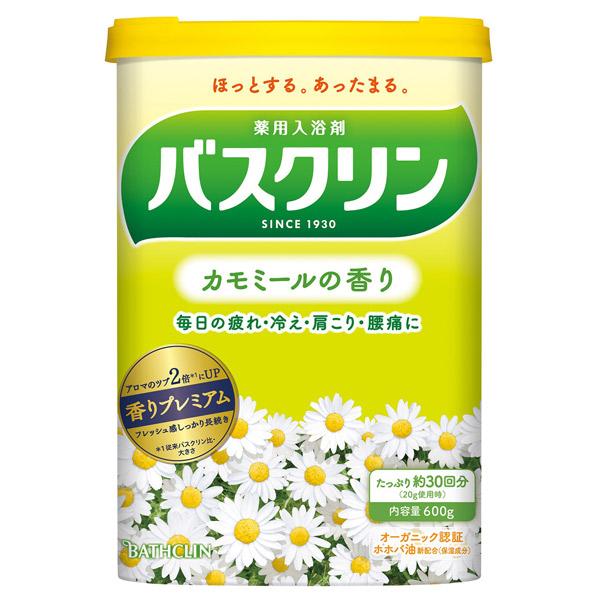 バスクリン カモミールの香り / 本体 / 600g / カモミールの香り