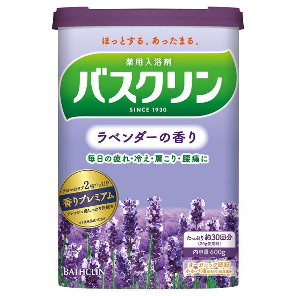 バスクリン ラベンダーの香り / 本体 / 600g / ラベンダーの香り