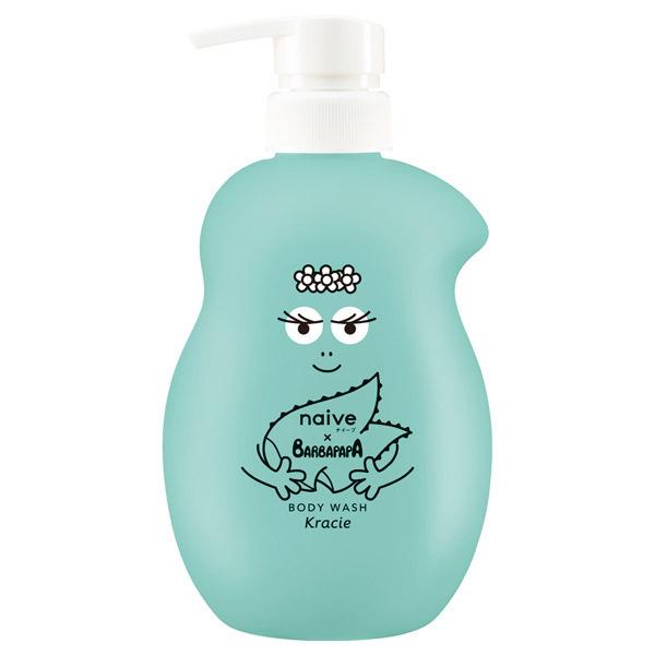 ボディソープ(アロエエキス配合) / 本体 バーバパパポンプ / 530ml / 洗いあがりまでさわやかな、シトラスグリーンの香り