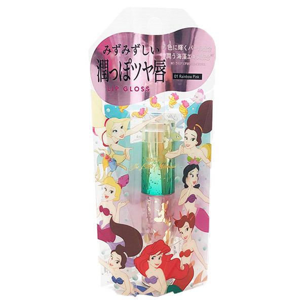 リップグロス リトル・マーメイド 01 / 本体 / RainbowPink01 / 2.5g